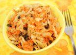 Салат морковный с квашеной капустой и черносливом – Рецепт оригинального салата с необычным вкусом, который достигается за счет включения в его рецептуру чернослива. Фото рецепта