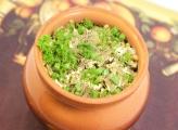 Овощи с папоротником тушеные в горшочке Фото рецепта