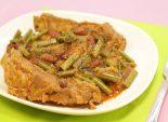 Свиные ребрышки с папоротником и фасолью – рецепты с папоротником Фото рецепта