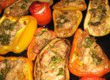 Фаршированные овощи, запеченные в духовке