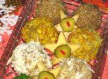 Печеночные шарики - Кулинарный рецепт приготовления замечательной новогодней закуски — печеночных шариков.