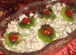Салат «Цветущий сад» - Кулинарный рецепт приготовления новогоднего салата.