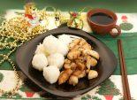 Рисовые «снежки» с курицей. Кулинарный рецепт приготовления рисовых шариков с курицей.