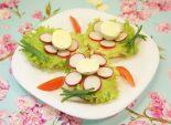 Бутерброды «Цветочки». Кулинарный фото рецепт  приготовления бутербродов. Фото рецепта
