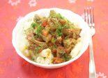 Мясо с овощами. Кулинарный фото рецепт приготовления мяса с овощами и макаронами. Фото рецепта