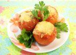 Помидоры «Мама Мия». Кулинарный фото рецепт приготовления фаршированных грибами помидоров запеченных в духовке. Фото рецепта