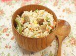 Рис с мясом «Конфетти». Кулинарный фото рецепт приготовления риса с мясом и овощами. Фото рецепта