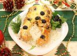 Сёмга «Пикантная». Кулинарный фото рецепт приготовления семги с оливками в духовке.