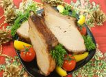 Мясо «Огонёк». Кулинарный новогодний фото рецепт приготовления мяса на ребрышках с аджикой к Новогоднему столу. Фото рецепта
