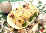 Заливное «Особое», фото рецепты на Новый год, новогодние рецепты приготовления заливного, приготовление заливного, закуски, приготовление блюд, приготовление блюд к празднику, праздничное блюдо, рецепт праздничного блюда, новогоднее угощение, блюда на нов Фото рецепта
