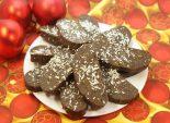Шоколадные пирожные «К чаю». Кулинарный фото рецепт приготовления шоколадных пирожных на Новогодний стол.