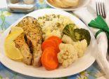 Рыба на пару. Кулинарный фото рецепт приготовления рыбы с рисом в пароварке со специями. Фото рецепта