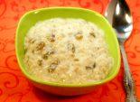 Овсяная каша с изюмом. Кулинарный фото рецепт приготовления овсяной каши с изюмом. Фото рецепта