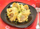 Ракушки для любимой. Кулинарный фото рецепт приготовления фаршированных ракушек с мясом и подливом на 8 марта. Фото рецепта