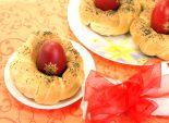 Пасхальные гнезда. Кулинарный фото рецепт приготовления пасхальных гнёздышек для яиц.