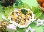 Салат «Русалочка». Пошаговый кулинарный рецепт с фото приготовление салата с морской капустой новогодний стол.