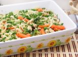 Спагетти с курицей и  овощами. Пошаговый кулинарный рецепт с фотографиями приготовление спагетти с курицей и овощами. Фото рецепта
