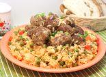 Тефтели с рисом и овощами. Пошаговый кулинарный рецепт с фотографиями приготовление тефтелей с рисом и овощами. Фото рецепта