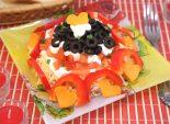 Салат «Шепот Купидона». Пошаговый кулинарный рецепт с фотографиями приготовление салата с курицей для романтического стола.