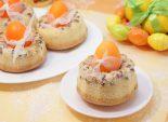 Пошаговый кулинарный рецепт с фото приготовление кексиков с изюмом на Пасху.