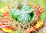 Крашенки «В горошек». Пошаговый кулинарный рецепт с фотографиями приготовление крашенных яиц в крапинку на Пасху. Фото рецепта