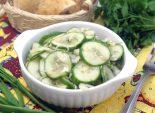 Огуречный салат. Пошаговый кулинарный рецепт с фотографиями приготовление салата из огурцов. Фото рецепта