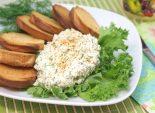 Закуска из сыра фета с гренками. Пошаговый кулинарный рецепт с фотографиями приготовление закуски с сыром фета с гренками. Фото рецепта
