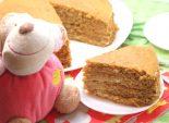 Торт «Медовая новинка». Пошаговый кулинарный рецепт с фотографиями приготовление торта с медом. Фото рецепта