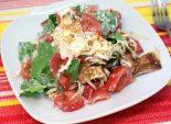 Летний салат с блинчиками. Пошаговый кулинарный рецепт с фотографиями приготовление летнего салата с овощами и блинчиками. Фото рецепта