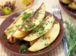 Молодой картофель с укропом и чесноком. Пошаговый кулинарный рецепт с фотографиями приготовление молодого картофеля с укропом и чесноком. Фото рецепта