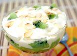 Десерт из мороженого «Киви». Пошаговый кулинарный рецепт с фотографиями приготовление десерта из мороженого и киви. Фото рецепта