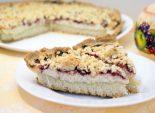 Пирог с клубникой и творогом. Пошаговый кулинарный рецепт с фотографиями приготовление пирога с клубникой и творогом. Фото рецепта