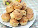 Кексики и ветчиной и сыром. Пошаговый кулинарный рецепт с фотографиями приготовление кексиков с ветчиной и сыром. Фото рецепта