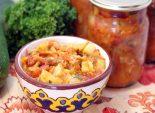 Кабачковое рагу на зиму. Пошаговый кулинарный рецепт с фотографиями приготовление кабачкового рагу на зиму. Фото рецепта