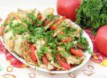 Закуска из кабачков с помидорами и зеленью. Пошаговый кулинарный рецепт с фотографиями приготовление кабачковой закуски из кабачков с помидорами и зеленью. Фото рецепта