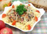 Овощи с макаронами и сыром. Пошаговый кулинарный рецепт с фотографиями приготовление овощей с макаронами и сыром. Фото рецепта