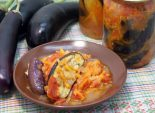 Закуска «Аппетитная» из баклажан