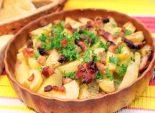 Картофель с копченой грудинкой. Пошаговый кулинарный рецепт с фотографиями приготовление картофеля с копченой грудинкой. Фото рецепта