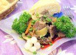 Телятина с овощами. Пошаговый кулинарный рецепт с фотографиями приготовление телятины с овощами. Фото рецепта
