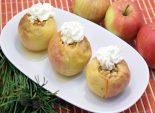Запеченные яблоки с мёдом и кедровыми орехами. Пошаговый кулинарный рецепт приготовления запеченных яблок с мёдом и кедровыми орехами. Фото рецепта