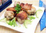 Куриные голени в беконе. Пошаговый кулинарный рецепт приготовление куриных голеней с беконом в духовке. Фото рецепта