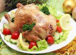 Курочка запеченная с лимоном. Пошаговый кулинарный рецепт с фото приготовление запеченной курочки с лимоном на новогодний стол. Фото рецепта