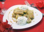 Жареные бананы в карамели. Пошаговый кулинарный рецепт приготовления жаренных бананов в карамели со взбитыми сливками для романтического стола. Фото рецепта