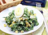 Салат с черемшой. Пошаговый кулинарный рецепт с фото приготовление салата с черемшой. Фото рецепта