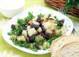 Сморчки жареные с картофелем . Пошаговый кулинарный рецепт приготовление сморчков жареных с картофелем. Фото рецепта