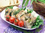 Мясо в  рукаве с черемшой и розмарином. Пошаговый кулинарный рецепт с фотографиями приготовление мяса запеченного в рукаве с черемшой и розмарином. Фото рецепта