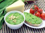 Соус «Песто» из черемши. Пошаговый кулинарный рецепт с фотографиями приготовление соуса «Песто» из черемши. Фото рецепта