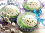 Пасхальные яйца в крапинку . Пошаговый кулинарный рецепт приготовления пасхальных яиц в крапинку. Пасхальные яйца своими руками