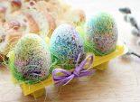Пасхальные яйца «Фейерверк». Пошаговый кулинарный рецепт с фотографиями приготовления пасхальных яиц