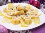 Сырный рулет «Новогодняя сказка»